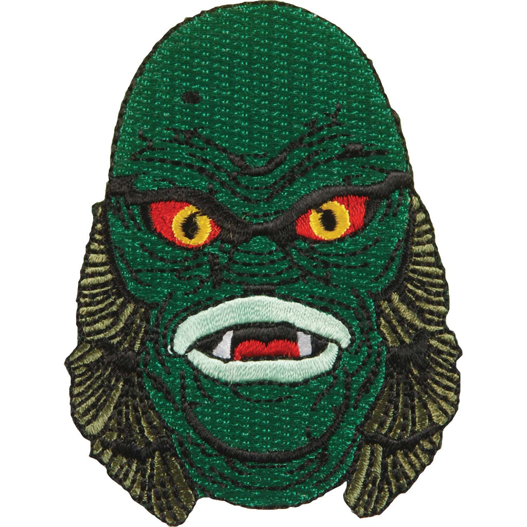 Creature Head by Rock Rebel Embroidered Patch