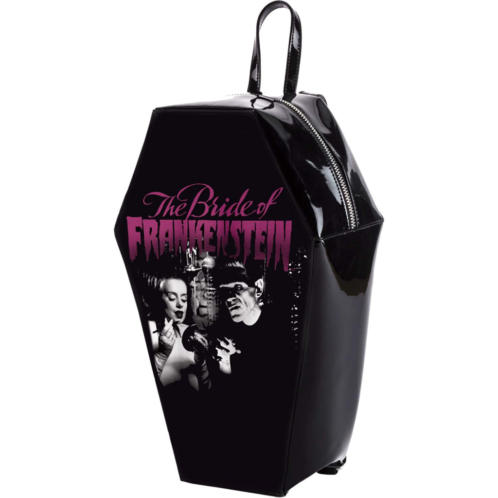 Bride Gets Ready Coffin Backpack Backpack