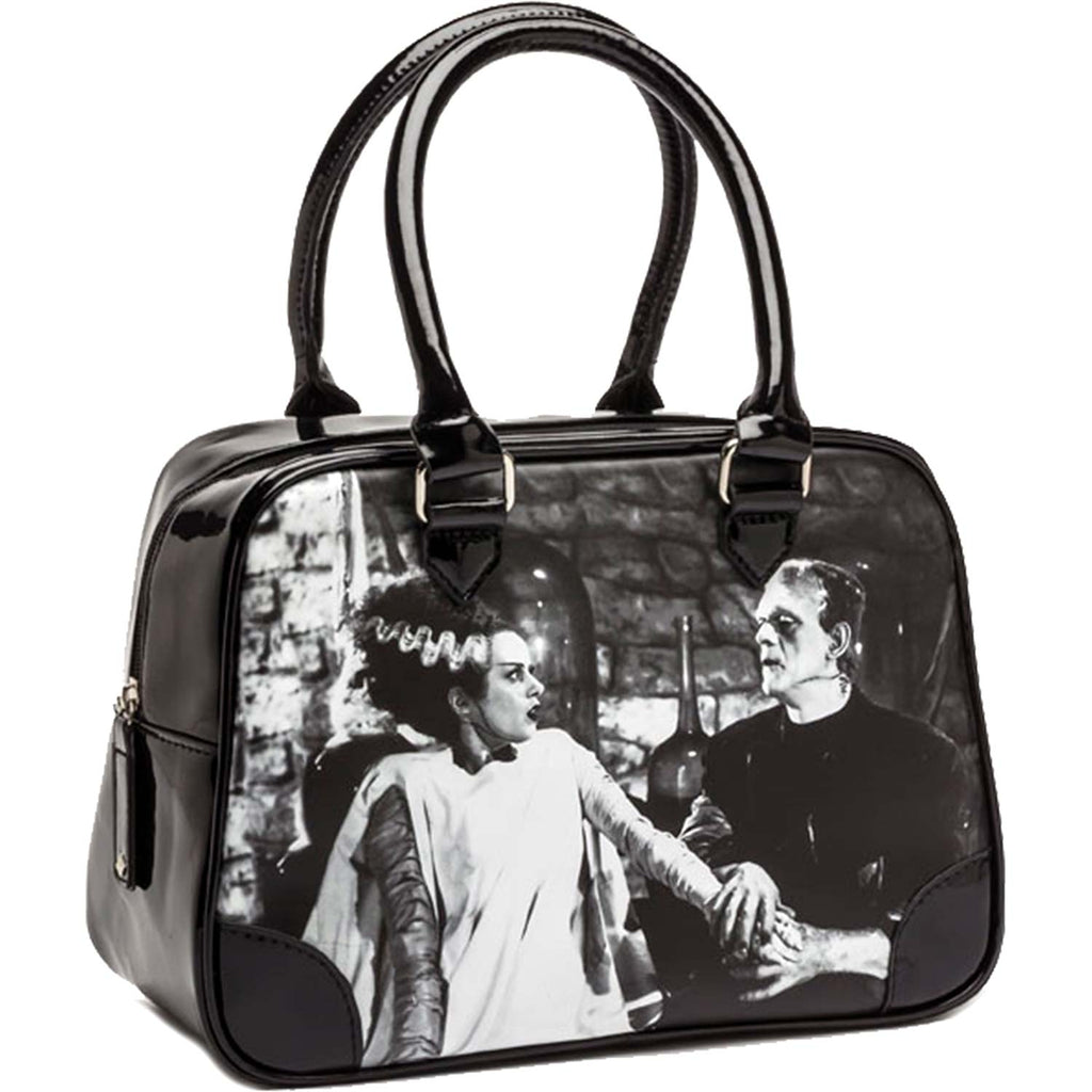 We Belong Dead Bowler by Rock Rebel Girls Handbag