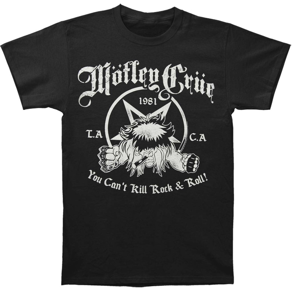 You Can't Kill Rock & Roll Slim Fit T-shirt