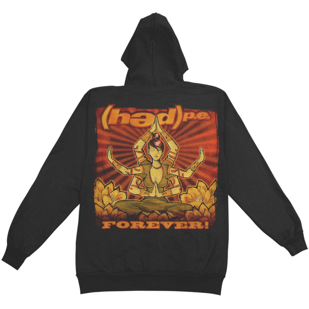 Forever Zippered Hooded Sweatshirt