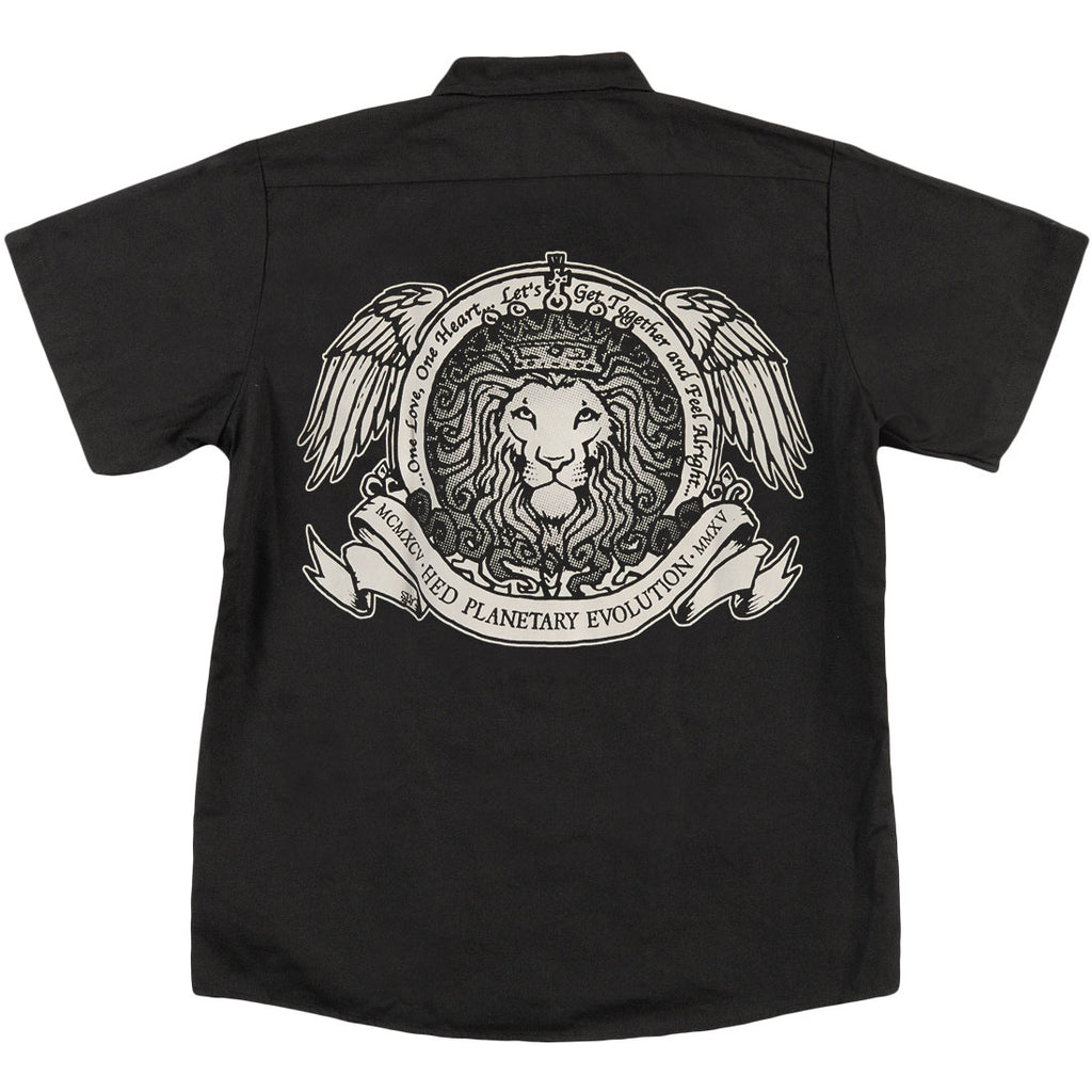 Skull Lion Work Shirt