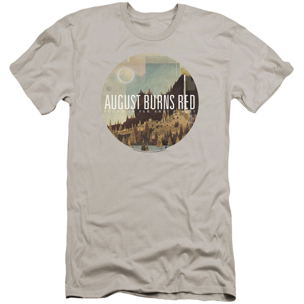 Far Away Places Premium Canvas Brand Slim Fit T-shirt