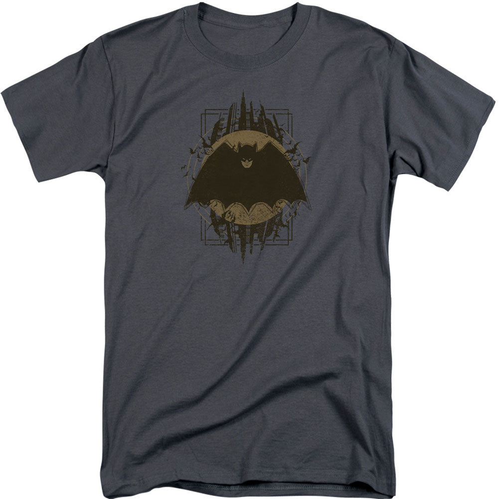 Batman Crest Adult Tall T-shirt Tall