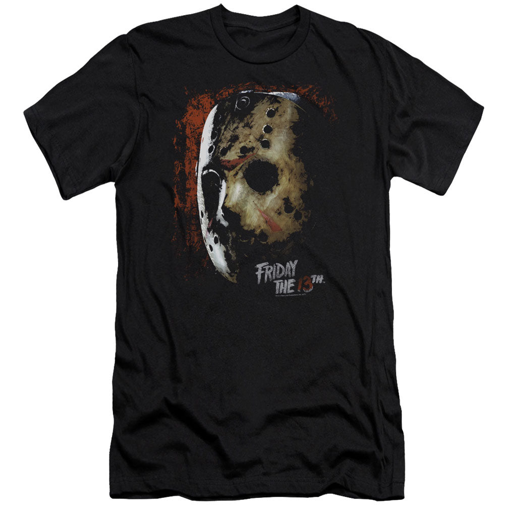 Mask Of Death Adult Slim Fit Slim Fit T-shirt