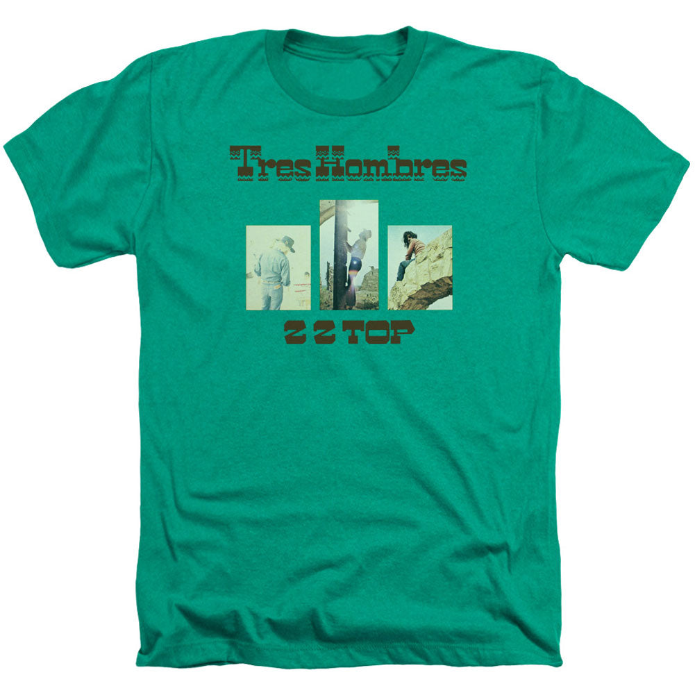 Tres Hombres Adult Heather 40% Poly T-shirt