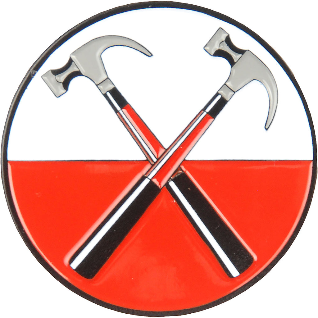'The Wall' Hammers Pewter Pin Badge