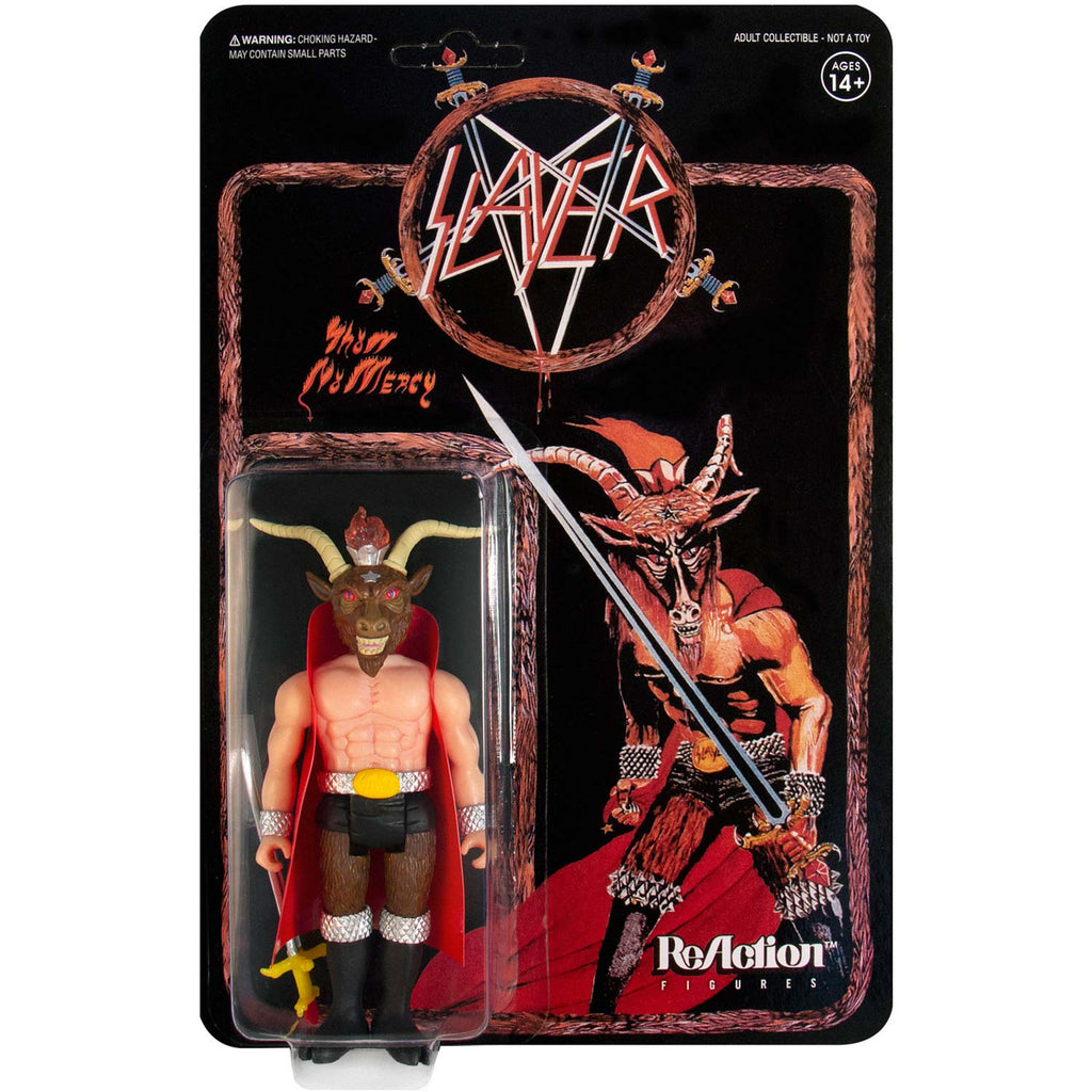 "Super7 ""Minotaur"" Slayer 3.75"" ReAction Figure Action Figure"