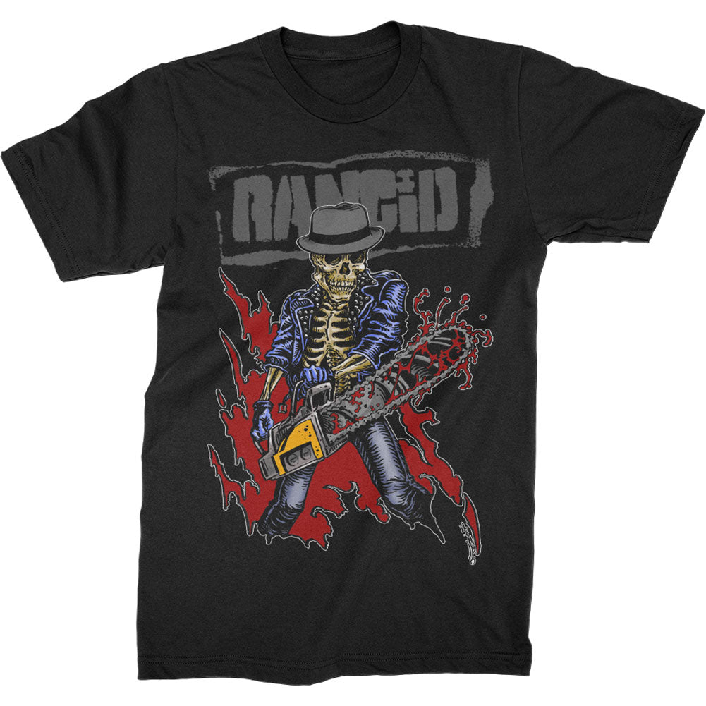 Chainsaw Skele Tim Tee T-shirt