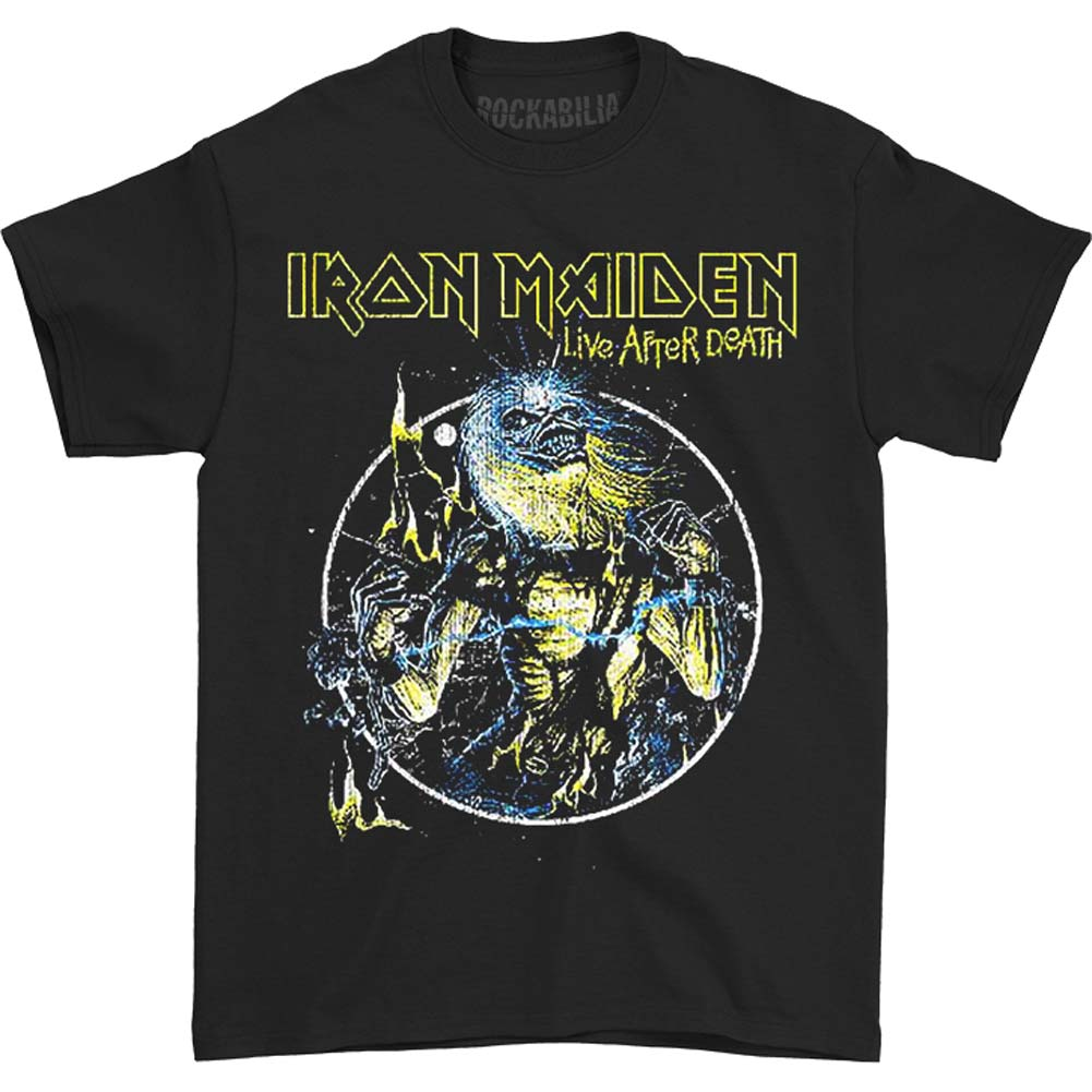Iron Maiden Live After Death Slim Fit T-shirt
