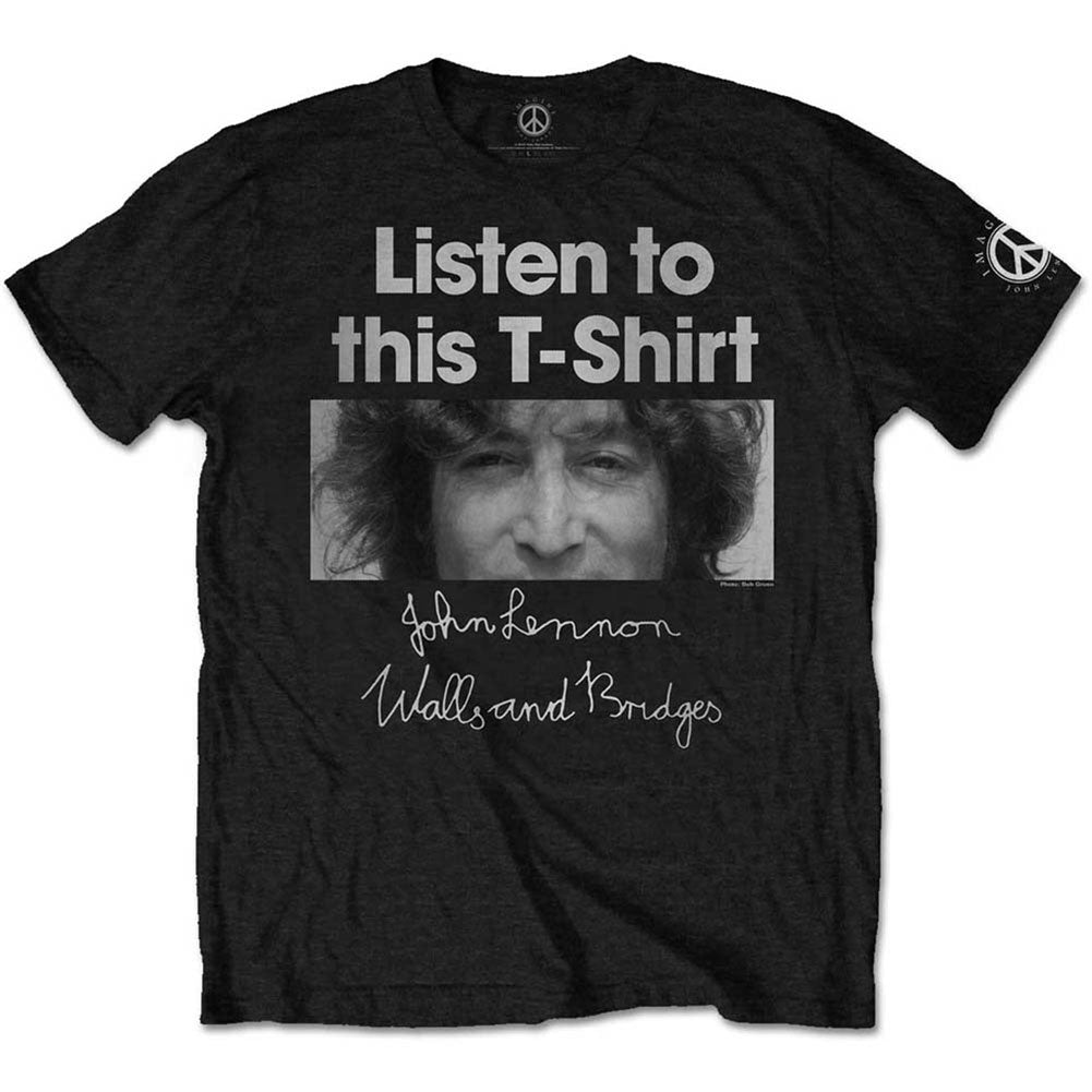 John Lennon Listen Lady Slim Fit T-shirt