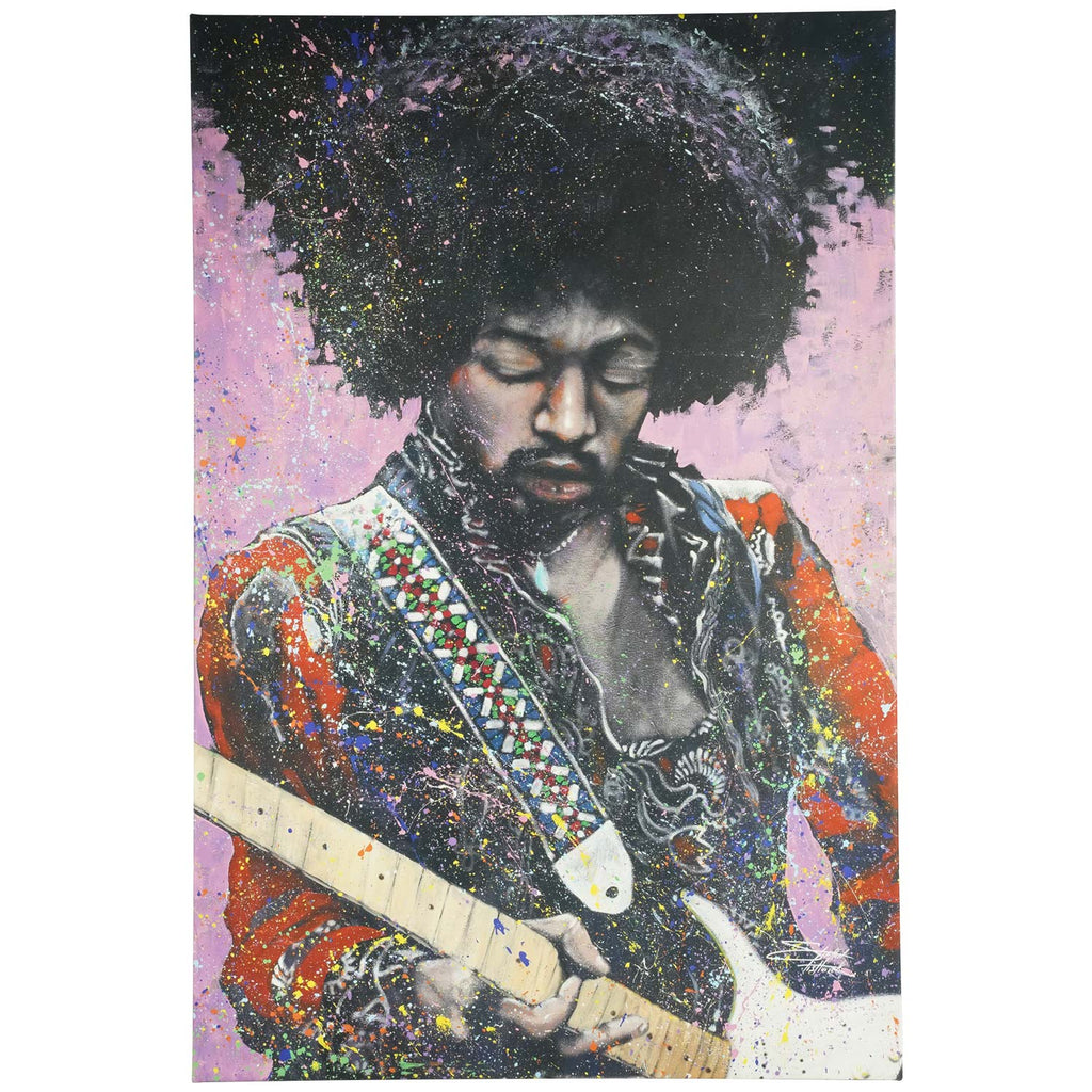 Jimi Hendrix Jimi 24x36 Canvas Art