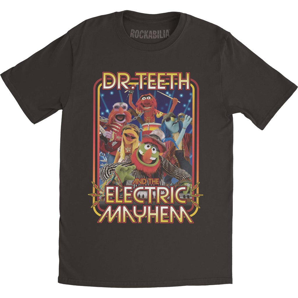 Muppets The Muppets Dr. Teeth Band Slim Fit T-shirt