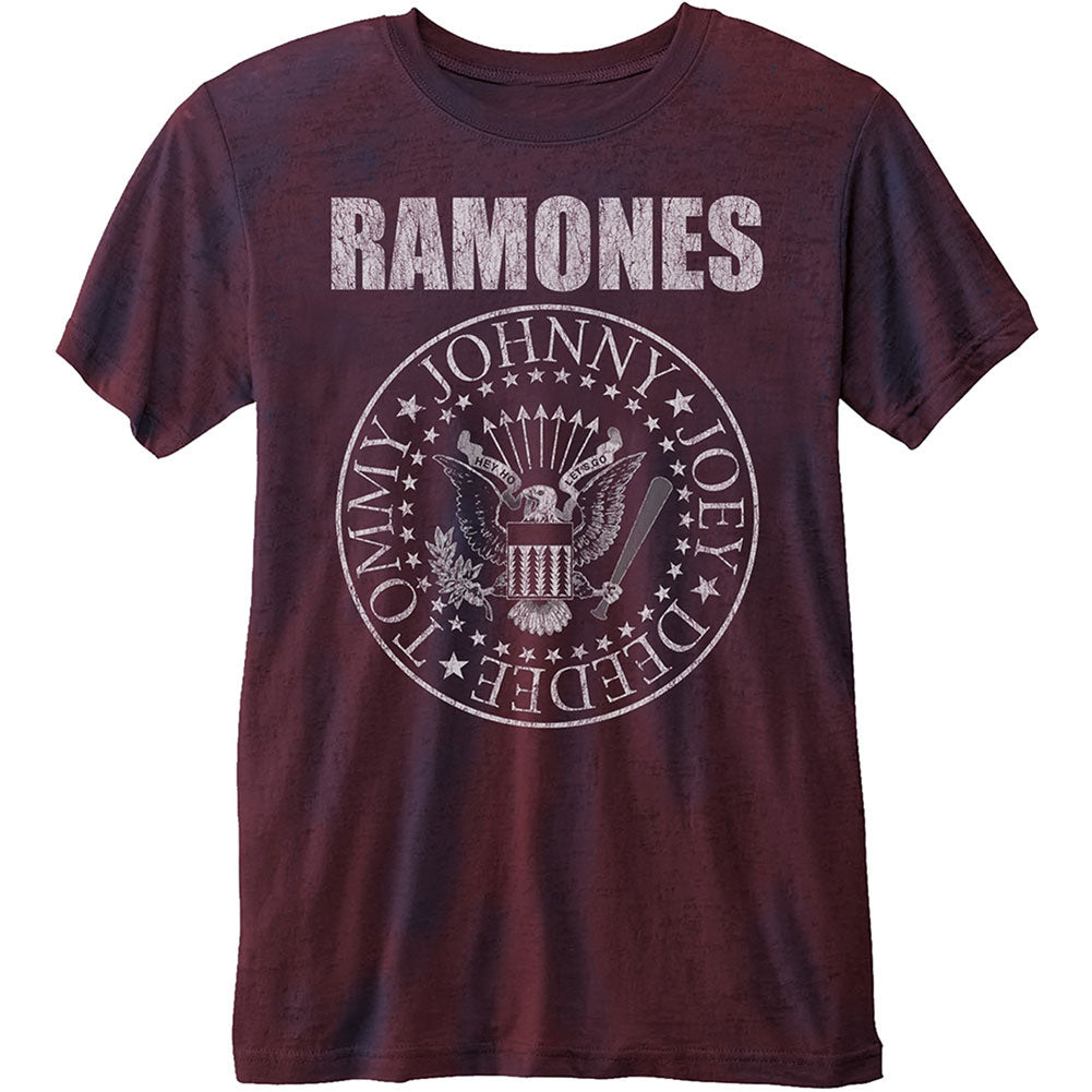 Ramones Presidential Seal (Burn Out) T-shirt