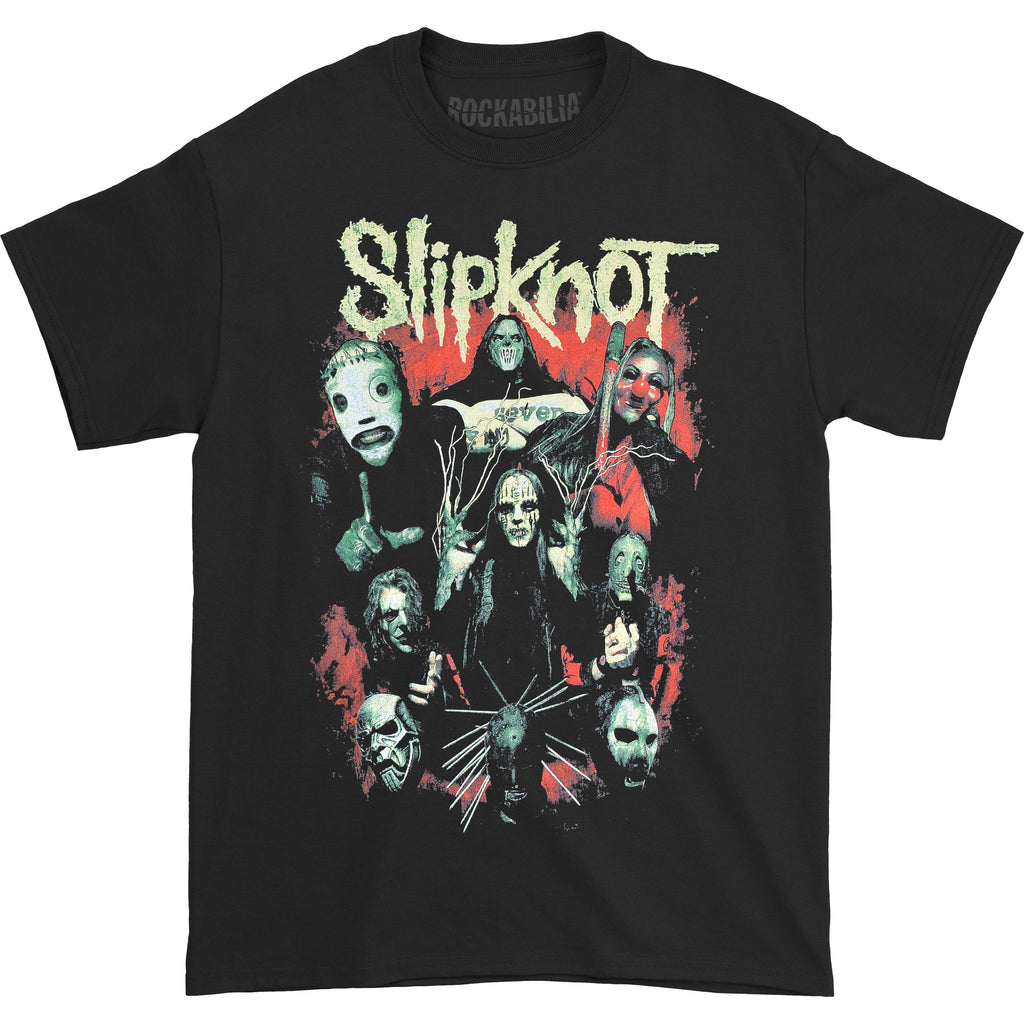Slipknot Come Play Dying (Back Print) Slim Fit T-shirt