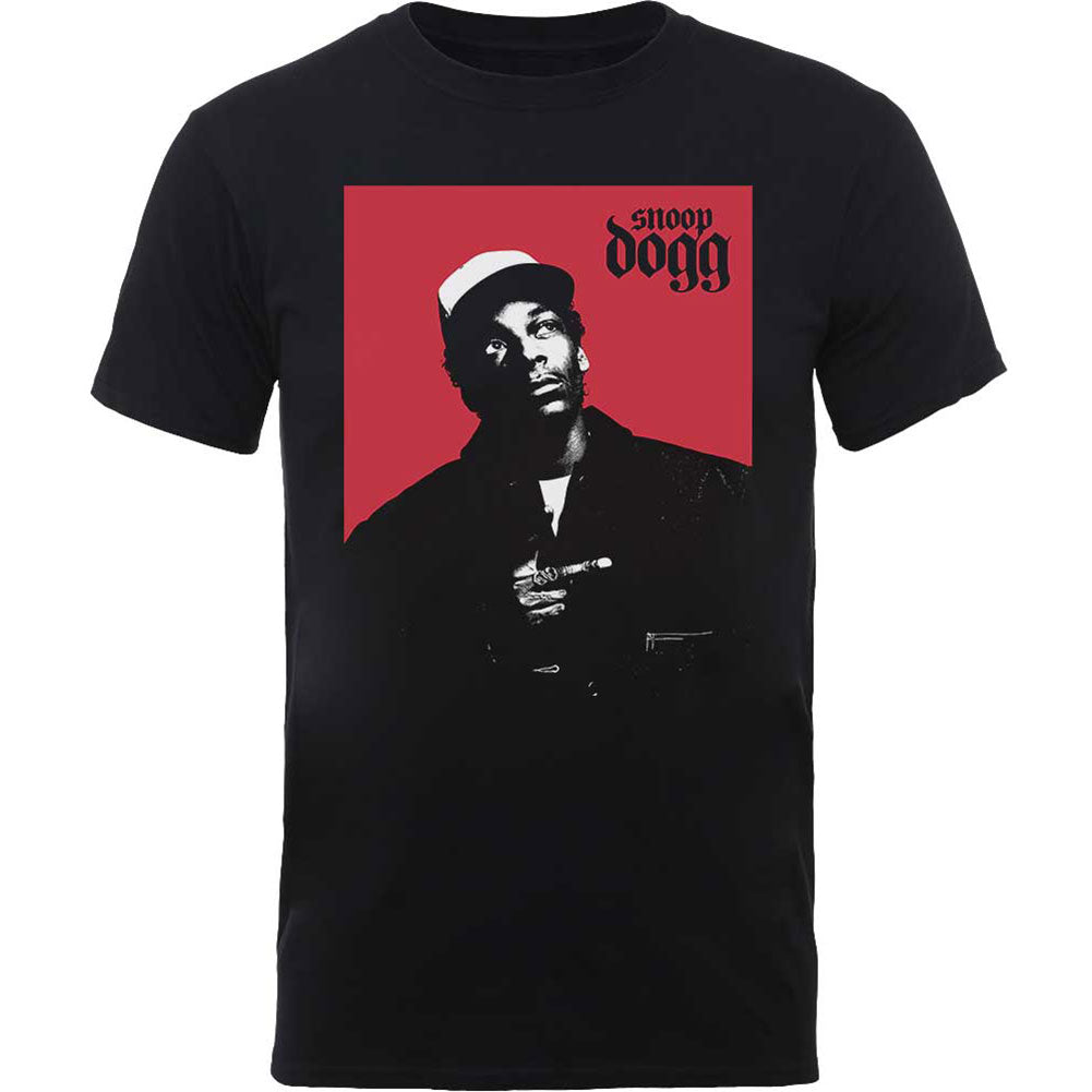 Snoop Dogg Red Square Slim Fit T-shirt