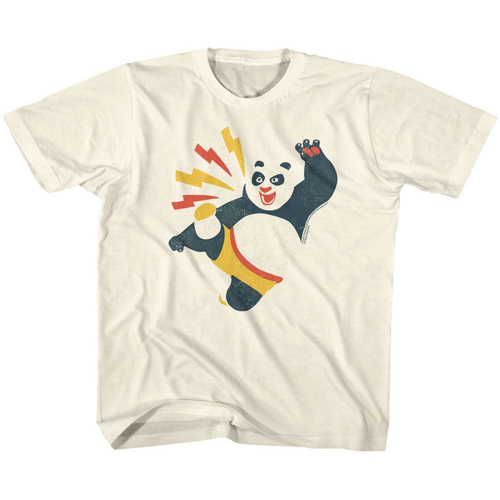 Kung Fu Panda Kicky Boy Kids Childrens T-shirt
