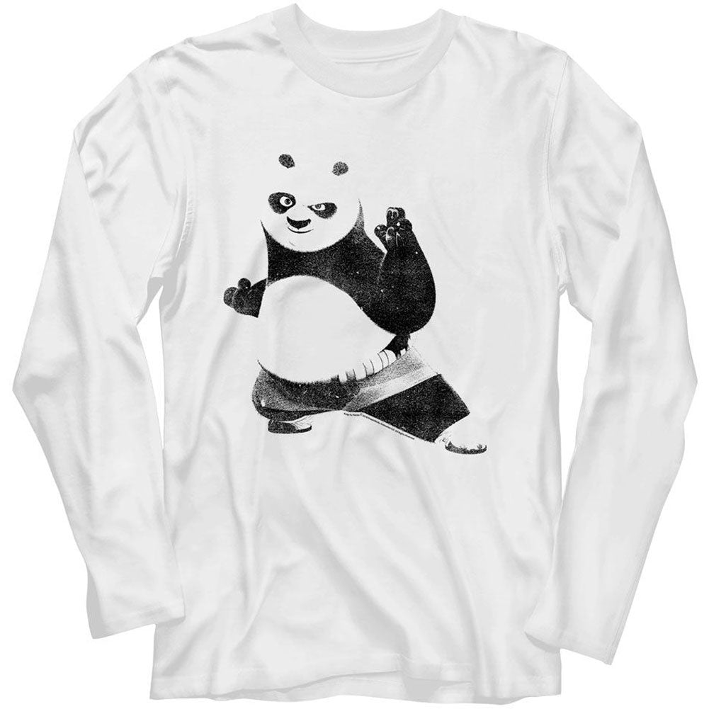 Kung Fu Panda Strike A Pose Long Sleeve