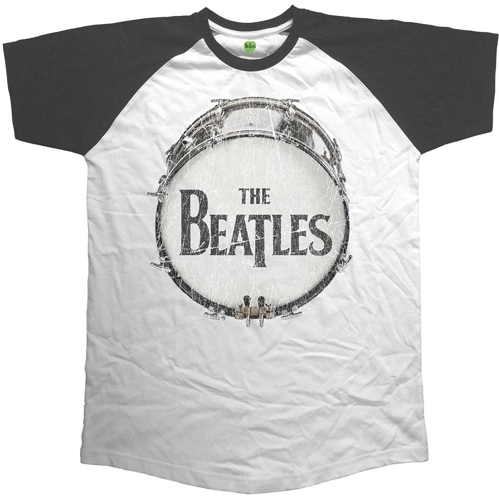Beatles Original Vintage Drum Raglan Short Sleeve