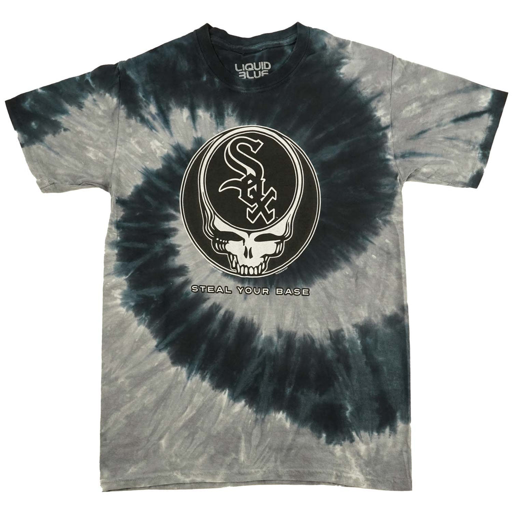 Grateful Dead Chicago White Sox Steal Your Base Tie Dye T-shirt