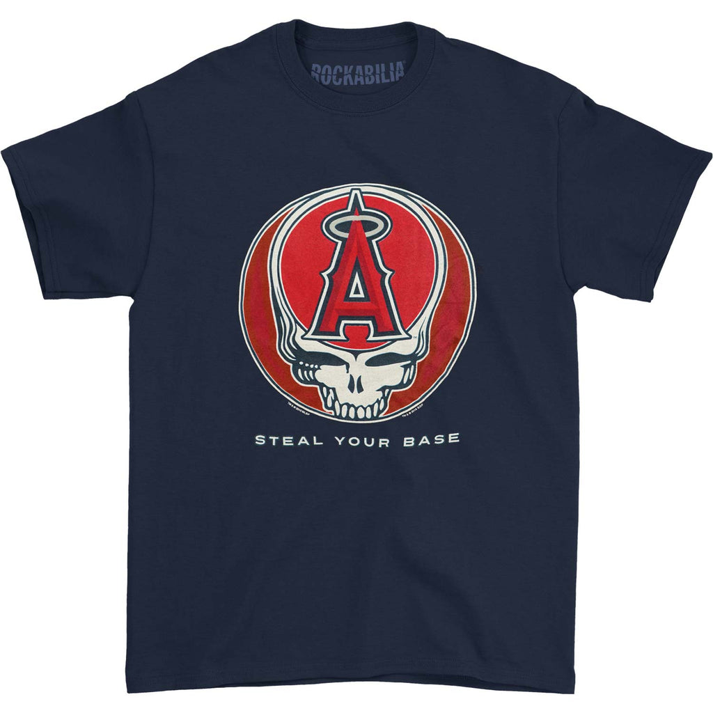 Grateful Dead Los Angeles Angels Steal Your Base T-shirt