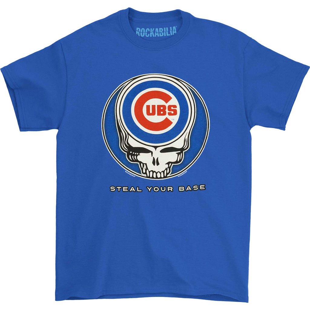 Grateful Dead Chicago Cubs Steal Your Base T-shirt