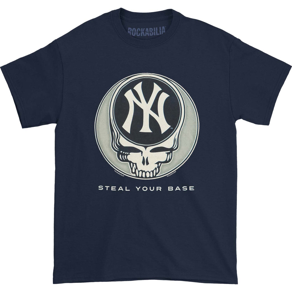 Grateful Dead New York Yankees Steal Your Base T-shirt