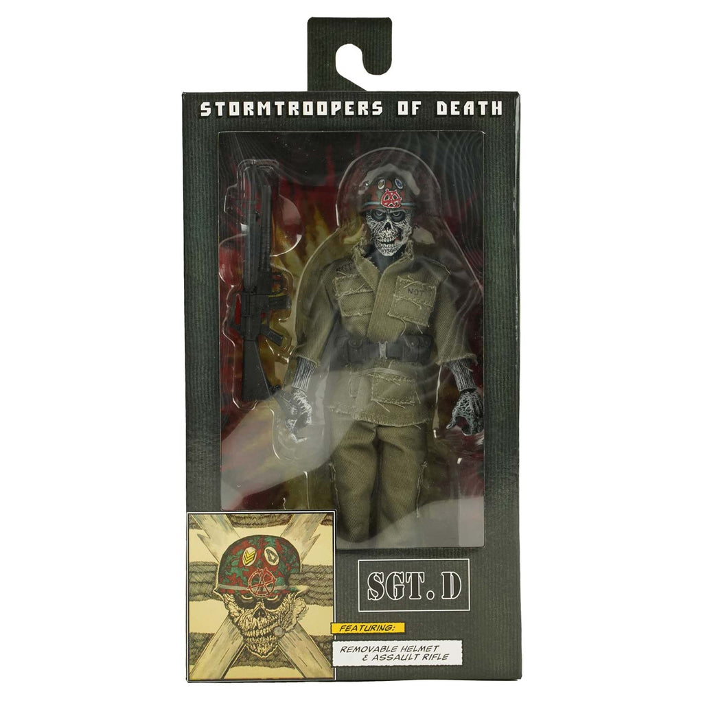 "S.O.D. 8"" Clothed Figure - Sgt. D by NECA Action Figure"