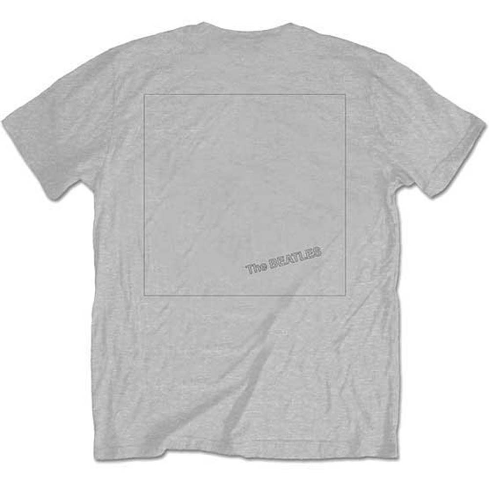Beatles White Album Back (Back Print) Slim Fit T-shirt