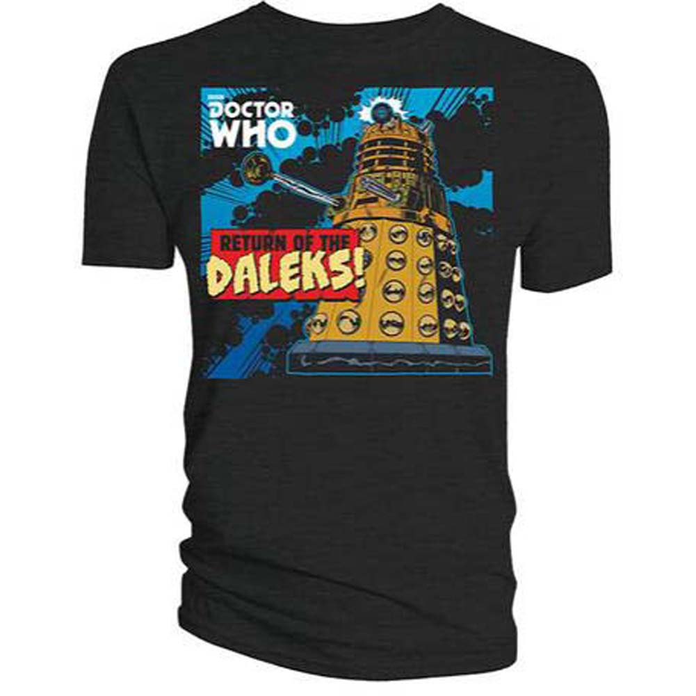 Return of the Daleks T-shirt