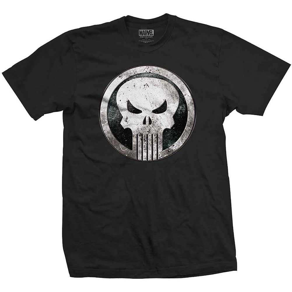 Metal Badge Slim Fit T-shirt