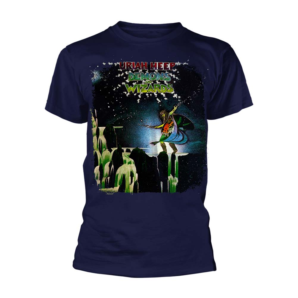 Demons And Wizards (navy) T-shirt