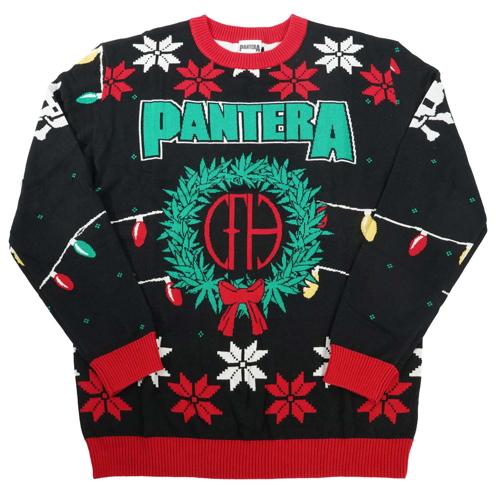 Pantera Holiday Sweater Sweatshirt