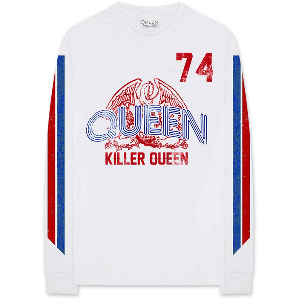 Killer Queen '74 Stripes (Arm Print) Long Sleeve