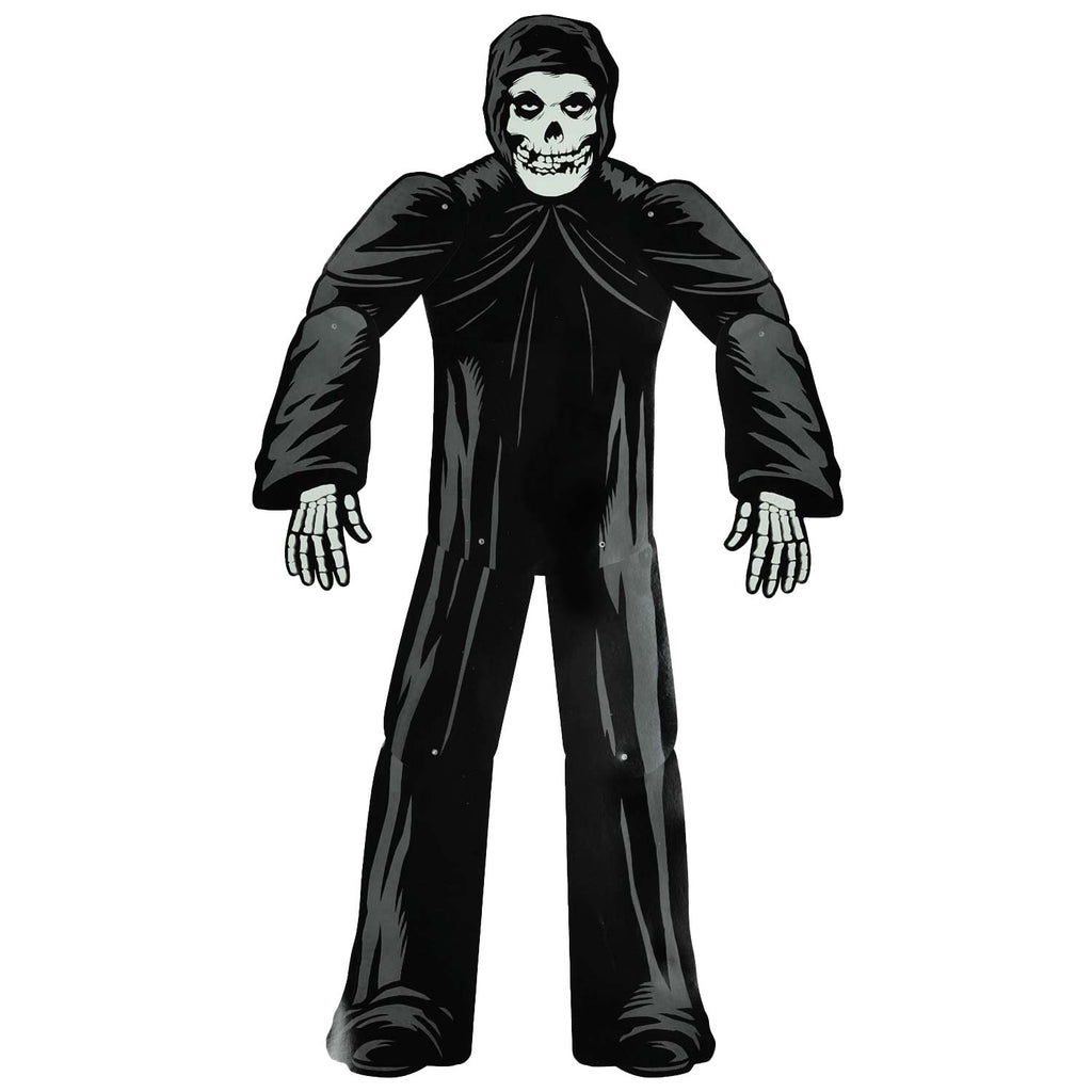 The Fiend Paper People (Black) by Super7 Halloween Decoration