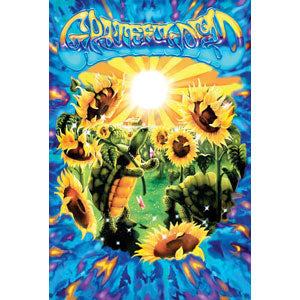Terrapin Sunflower Domestic Poster