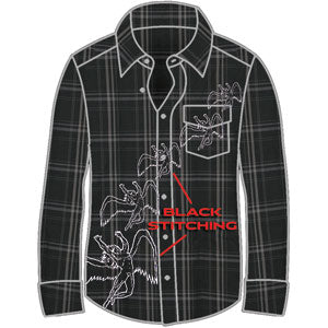 Repeating Swans Dress Shirt