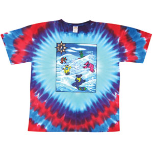 Snow Bears Tie Dye T-shirt