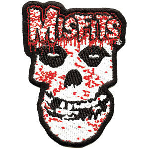 Bloody Skull Embroidered Patch