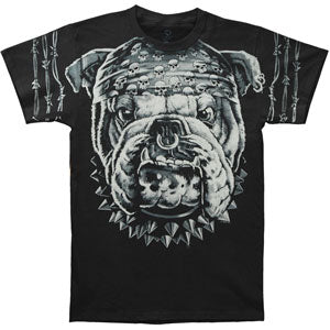 Cats Suck Bull Dog T-shirt