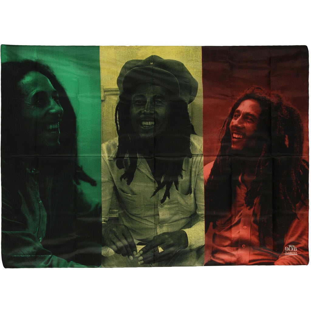 Rasta Collage Poster Flag