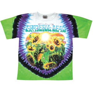 Sunflower Terrapin Tie Dye T-shirt