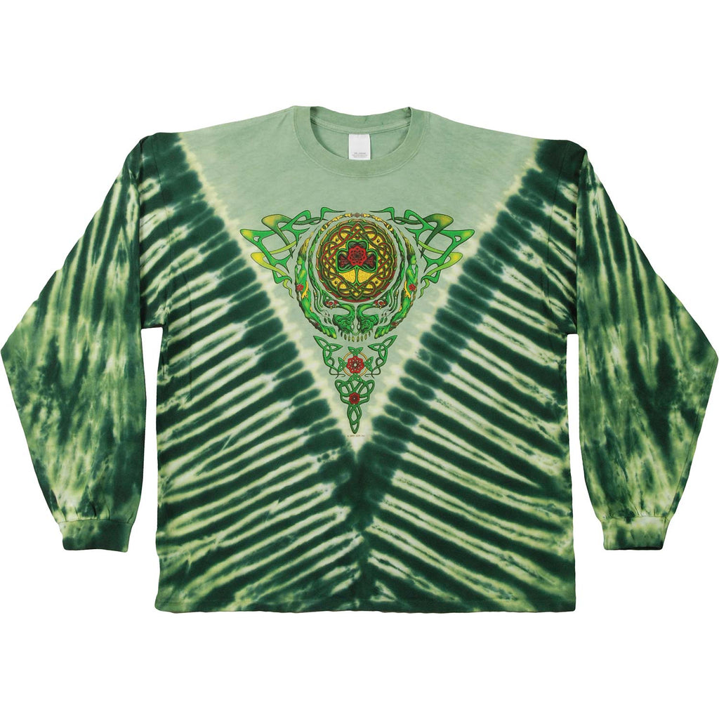 Celtic Knot Tie Dye  Long Sleeve
