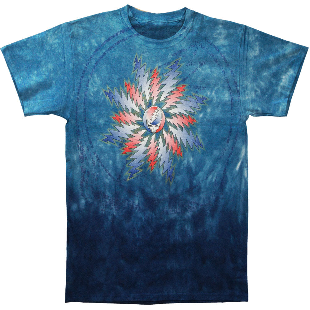 Grateful Dead All Over Steal Your Face Tie Dye T-shirt
