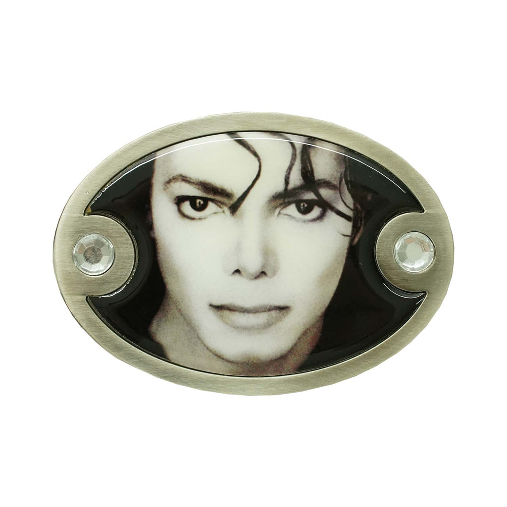 Black And White Photo Belt Buckle