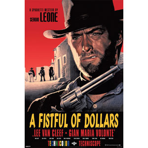 Fistful Of Dollars Domestic Poster
