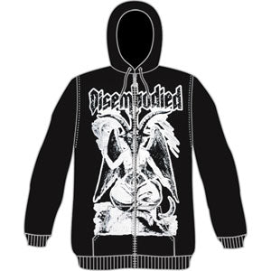 Demon Zippered Hooded Sweatshirt