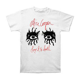Official Alice Cooper Spend The Night With Spider Ex Tour T-Shirt Constrictor