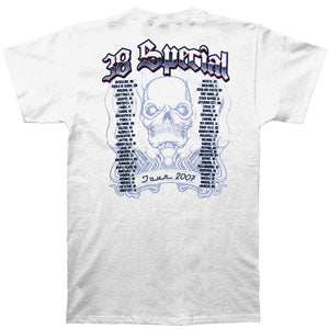 Skull Flames 07 Tour Tee T-shirt