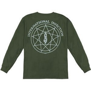 Infection Silver Back  Long Sleeve